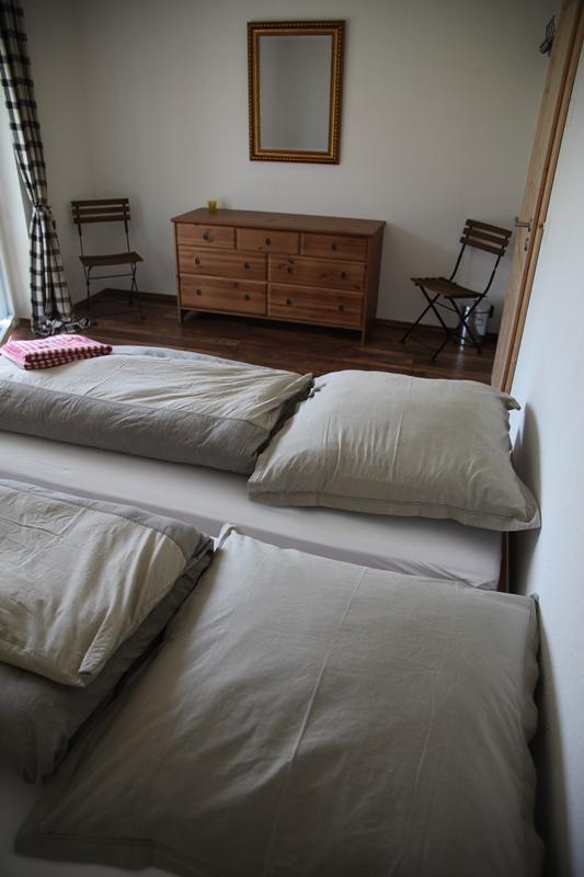 gast sein b b im blockhaus. Black Bedroom Furniture Sets. Home Design Ideas